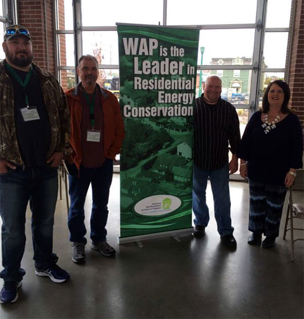 WAP is the leader in Residential Energy Conservation